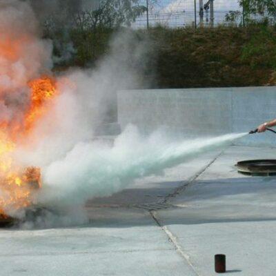 ST16. Utilização de Extintores – Combate a Incêndios