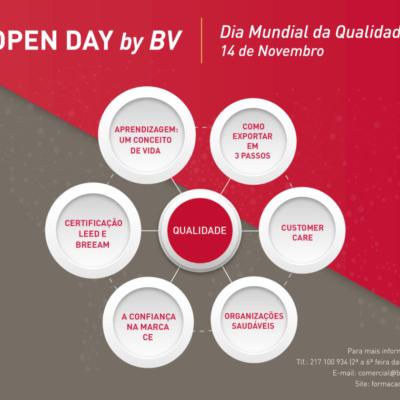 OPEN DAY by BV – Dia Mundial da Qualidade