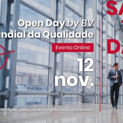 Save the Date – Open Day by BV – Dia Mundial da Qualidade